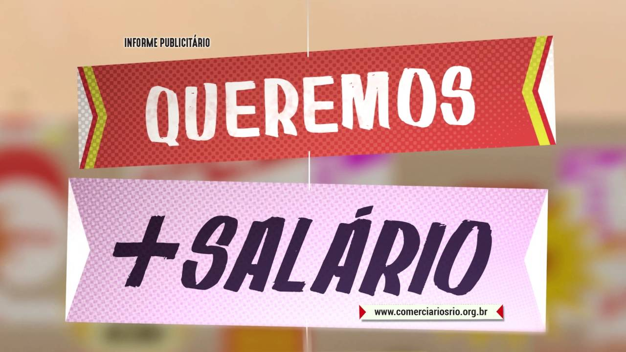 Campanha Salarial Comerciários Rio