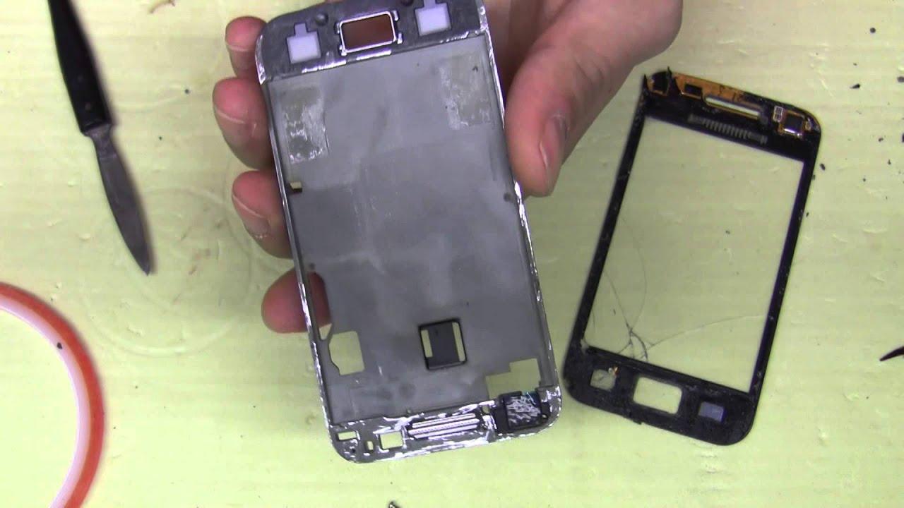 Разбито сенсорное стекло. Планшет Samsung Galaxy Tab 3 7.0 SM-T210 .