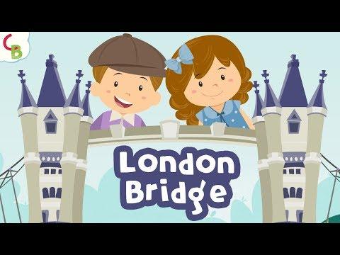 London Bridge Is Falling Down   Nursery Rhymes With Lyrics   Childrens Songs by Cuddle Berries