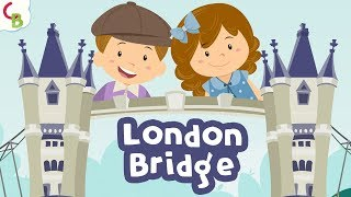 London Bridge Is Falling Down | Nursery Rhymes With Lyrics | Childrens Songs by Cuddle Berries