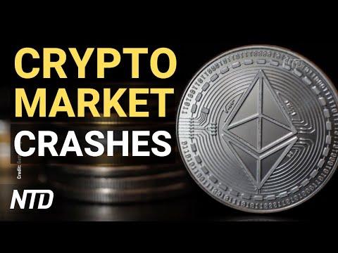 Tesla Suspends Bitcoin, Crypto Mkt Crashes; Biden: Pipeline Back On, Don't Panic-Buy   NTD Busi