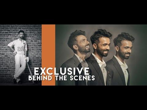Ajinkya Rahane for HT brunch by Subi Samuel - Exclusive Behind the Scenes