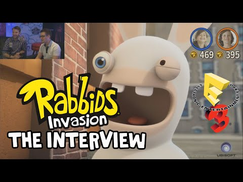 Rabbids Invasion The Interactive TV Show - Interview [INT]