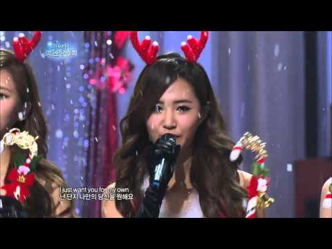 【TVPP】SNSD - All I Want For Christmas Is You, 올 아이 원트 포 크리스마스 이즈 유 @ SNSD's Christmas Fairy Tale