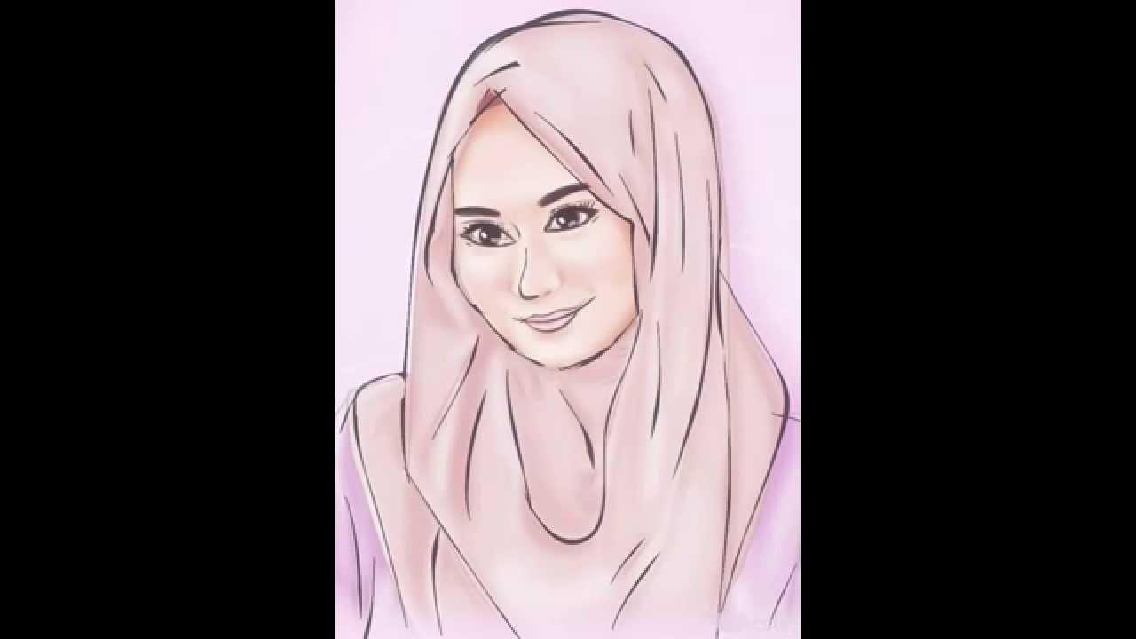 Sketsa Kartun Muslimah Youtube