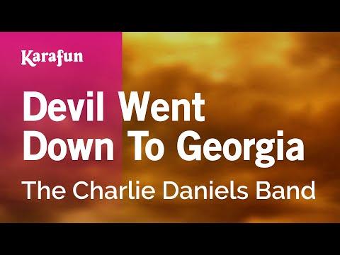 Karaoke Devil Went Down To Georgia - The Charlie Daniels Band *