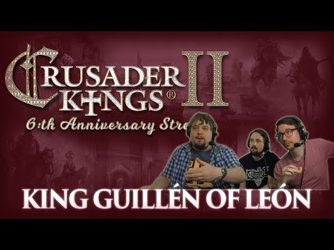 CK2: Anniversary Succession Game - King Guillén of León