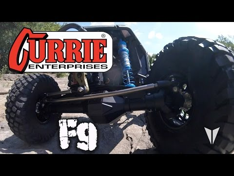 Currie F9 Wraith/Bomber axle housing from Vanquish Products