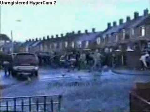Rioting In Belfast Northern Ireland