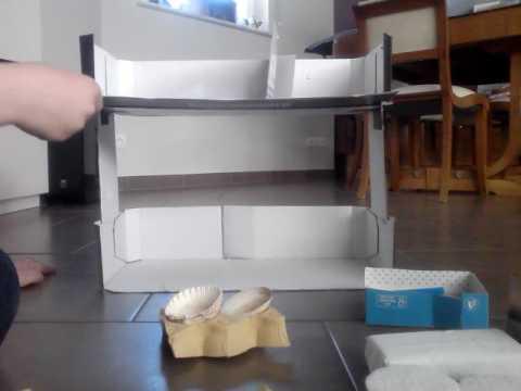 maison en carton pour playmobil youtube. Black Bedroom Furniture Sets. Home Design Ideas