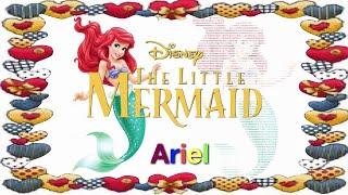 Disney Princess Ariel (The Little Mermaid) Image to Text - Kids' Toys