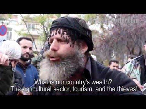 Cretan Farmer Slams Greece's PM Tsipras Policies