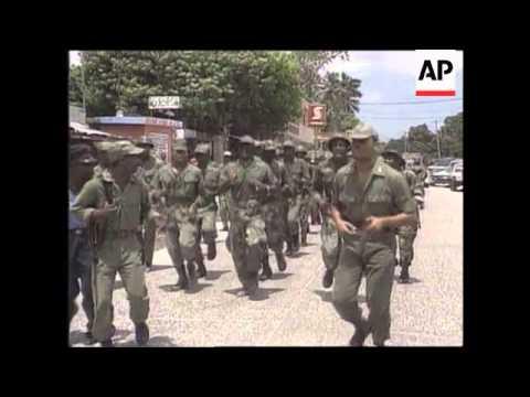 Haiti - Civil Defence Measures And Food Rationing