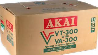 AKAI VT-300S 1976 Rare Video Transfers yes we can do it.