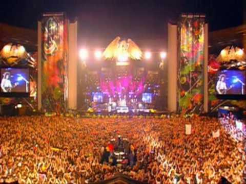 Elton John, Queen & Tony Iommi - The Show Must Go On - Freddie Mercury  Tribute Concert