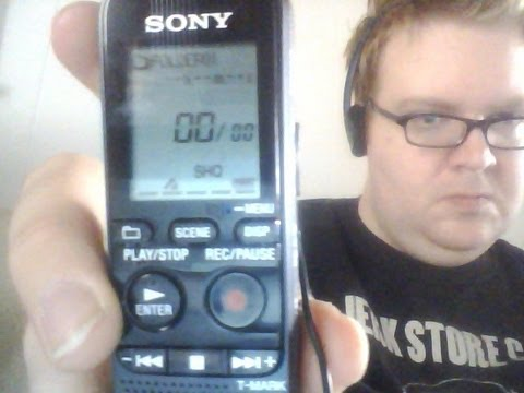 DRIVERS: SONY IC RECORDER ICD-PX312
