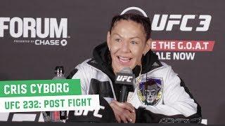 UFC 232 Post-Fight Press Conference: Cris Cyborg