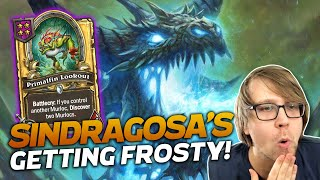 Sindragosa is Getting Frosty! | Hearthstone Battlegrounds | Savjz