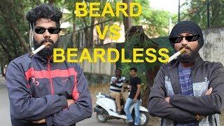 Beard Vs beardless | Kannada vine video | Anaamadheya studios