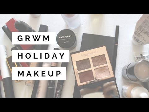 GRWM Real Time Holiday Party Makeup Look | Nicole M. Caruso