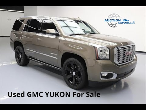 Used Gmc Yukon For Sale In Usa Shipping To Oman Youtube