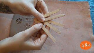 Criando ferramentas cerâmicas em casa - bloco 1 de 3