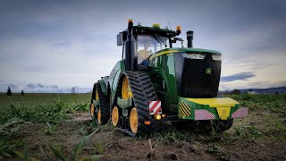 STUNNING BRUDER JOHN DEERE 9620RX RC ACTION!MEGA R/C Tractor Umbau🦌2021 NEW🚜 #bruder #johndeere