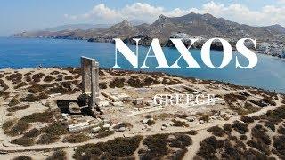 Naxos, Cyclades Islands - Greece - Portara view at Cyano suites