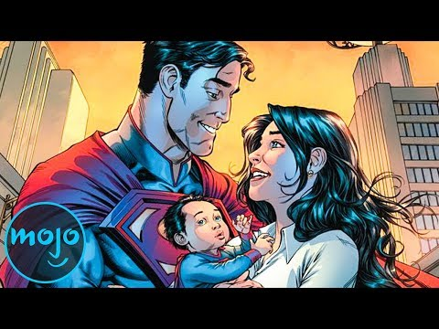 Top 10 Couples in DC Comics