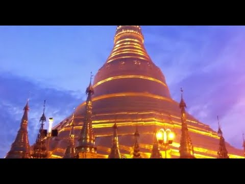 Golden Pagoda in Myanmar
