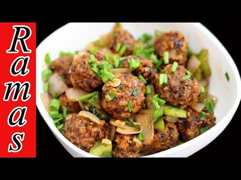 குழந்தைகள் விரும்பும் ஈவினிங் ஸ்னாக்ஸ் | Oats Manchurian in Tamil |  Snack Recipe | Oats Recipes