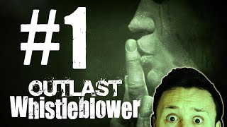 Outlast Whistleblower | Part 01 | Hello Mr. Cannibal | Get Germanized Gaming