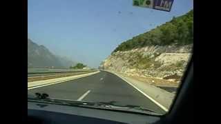 Horvatorszag A1 Autopalya Terkepe