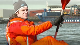 Ocean Plastic Turned into Kayaks | Blue Planet Live | BBC Earth
