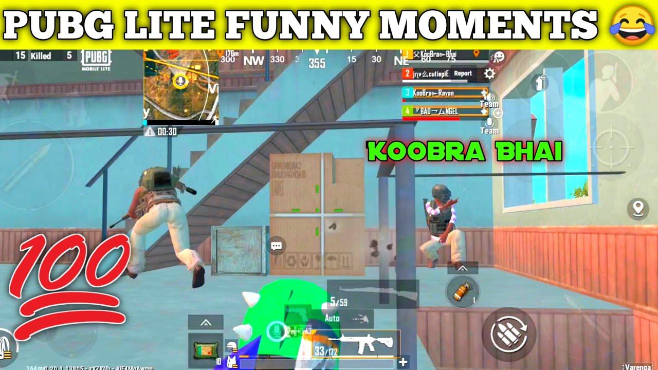😂 PUBG LITE BEST CAMPER IN MY MATCH | Pubg Mobile Lite Best funny video | Koobra Bhai funny video