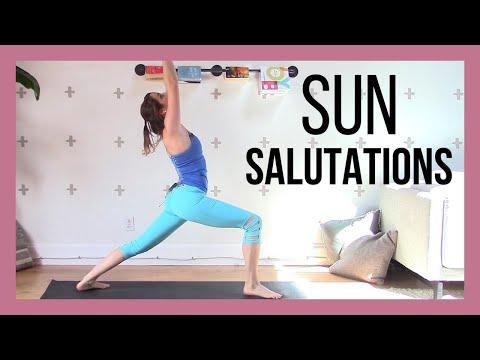 Sun Salutations & Standing Poses - Grounding Slow Flow {60 min}