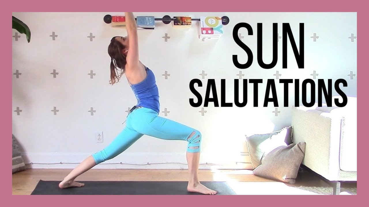 dc268344ffa8ee Sun Salutations & Standing Poses - Grounding Slow Flow {60 min ...