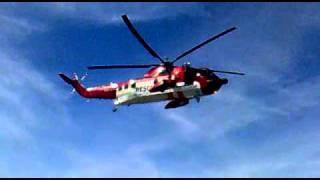 Irish Coastguard Helicopter Training