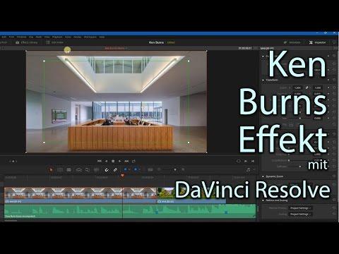 Profi-Animation für Fotos: KEN BURNS EFFEKT mit DaVinci Resolve