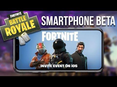 EPIC GAMES will hoch hinaus! FORTNITE: BATTLE ROYALE kommt auf's Smartphone!
