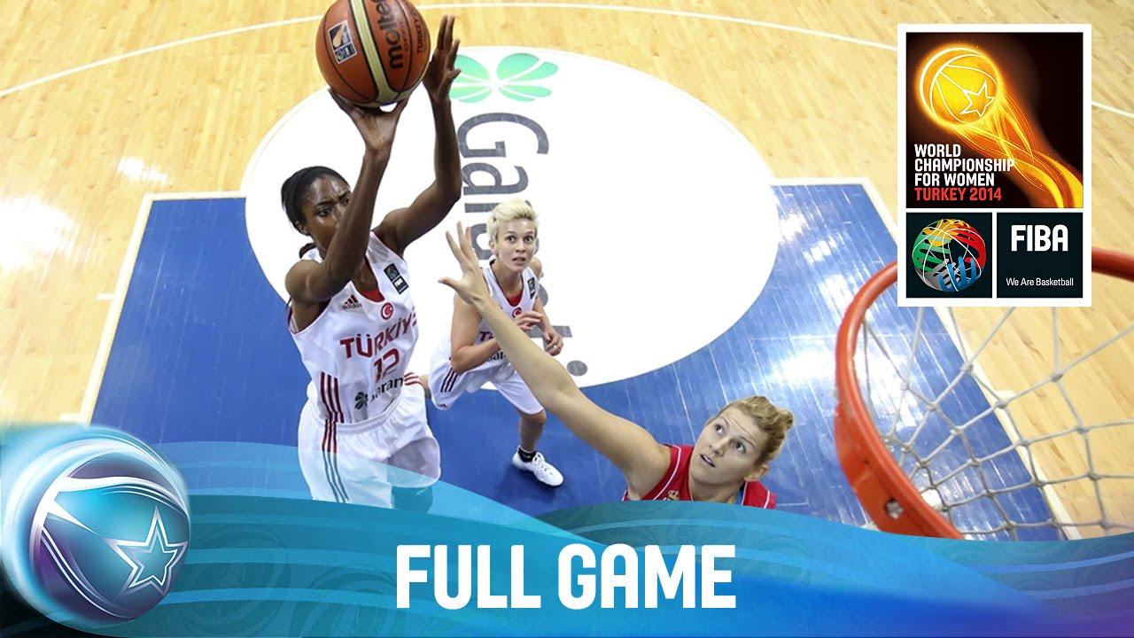 Turkey v Serbia - Full Game - Quarter-Final