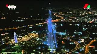Бурдж-Хали́фа-самый высокий в мире небоскреб(828-метровый небоскреб в Дубае,напоминающий по форме сталагмит.Зданию принадлежат 16 мировых рекордов различ..., 2010-10-23T19:25:07.000Z)