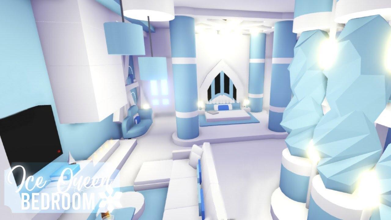 Ice Queen Winter Bedroom Roblox Adopt Me Youtube