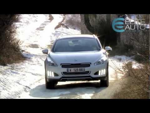 Essai Peugeot 508 RXH Hybrid4 200ch