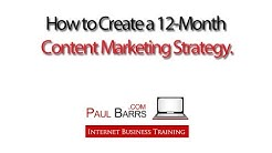 How to Create a 12-Month Content Marketing Plan