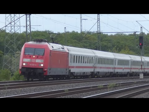 [4K] DB Züge 2020 | ICE, IC, IC2, Güterzüge Deutsche Bahn | Trains in Germany