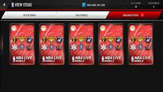 NBA Live Mobile Cornucopia Pack Opening! - Best Pack Ever?