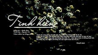 Lyrics || Tình Hiền | Nguyên Hà // Đỗ Bảo