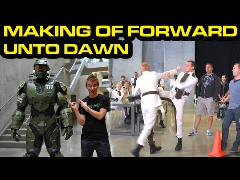 Halo 4 News Making Of Halo 4 Forward Unto Dawn With Greenskull