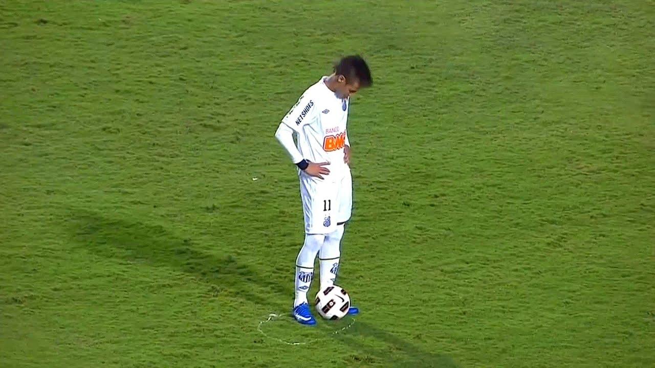 Download Neymar Legendary Goals For Santos